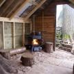 Leek Camping Barns social area