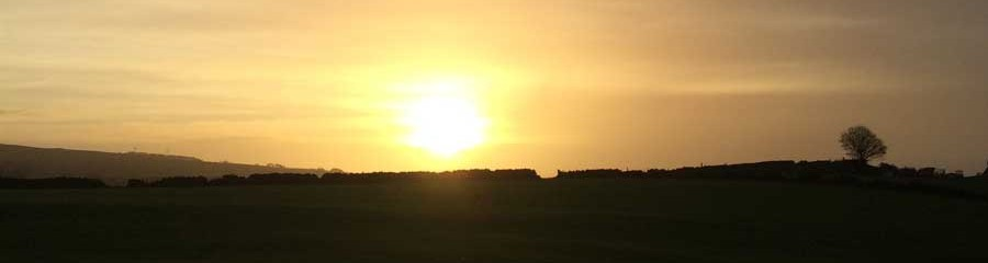 Leek Camping Barns Sunrise